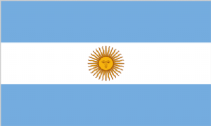 Argentina Large Country Flag - 3' x 2'.